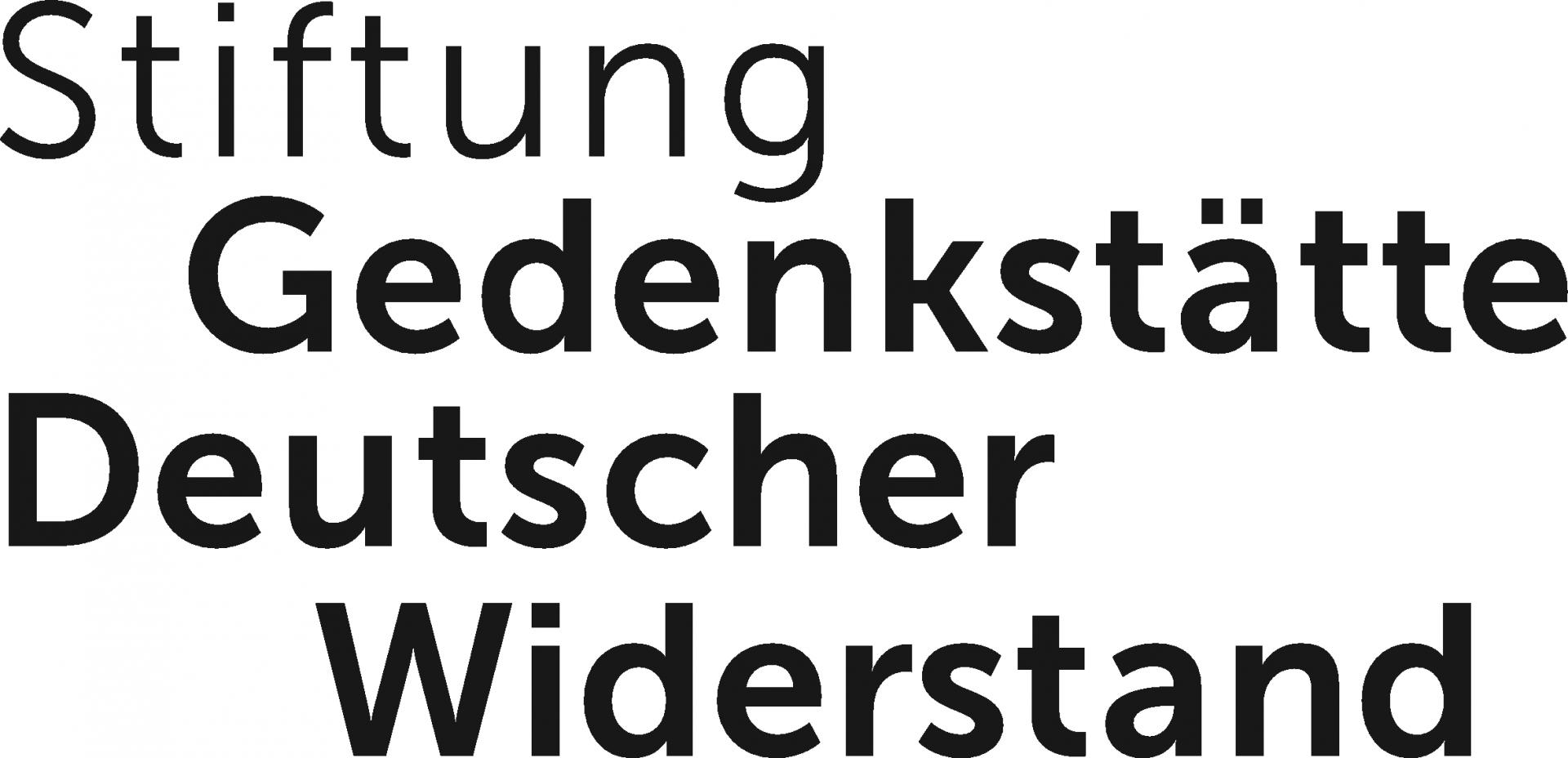 Logo Stiftung Gedenkstätte Deutscher Widerstand